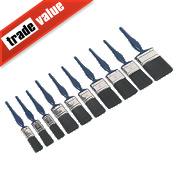 No Nonsense Synthetic Bristle Brushes 10 Piece Set